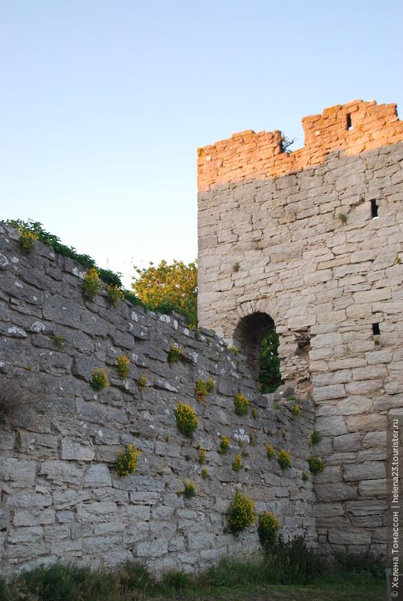 Крепость Висбю.