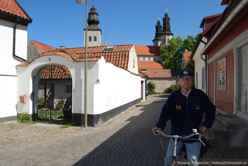 По Висбю можно походить пешком или поездить на велосипеде, осматривая также и окрестности.