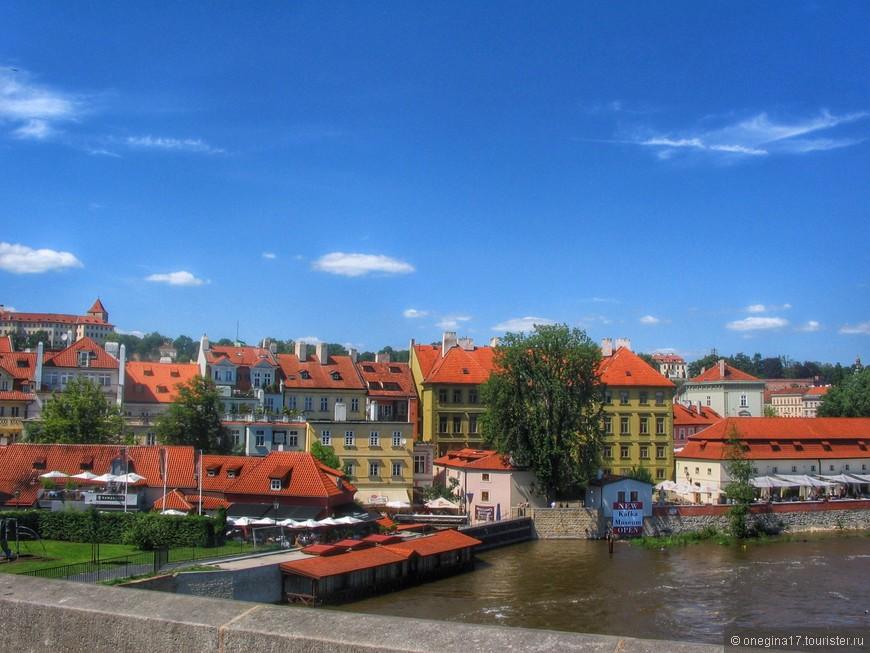 Влтава и крыши - такой я запомнила Прагу.