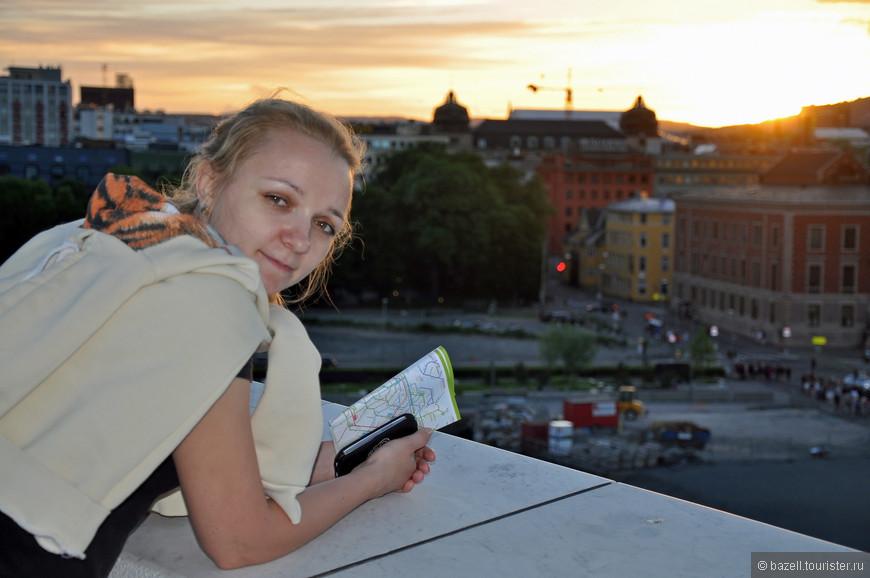 В XX веке город заметно разросся, в 1948 году к нему присоединили Акер. В 1960-х Осло переделали в современный город с обширной сетью дорог, системой общественного транспорта и новыми офисными зданиями.