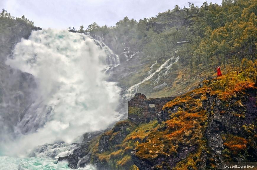Водопад Чосфоссен