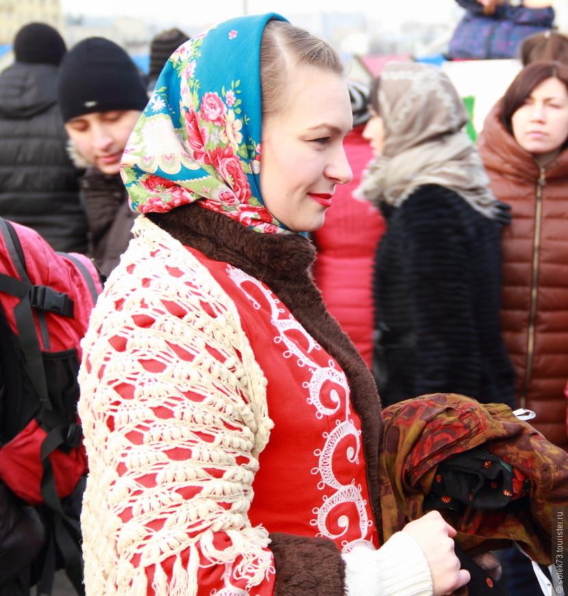 Русская красавица с ангельской улыбкой