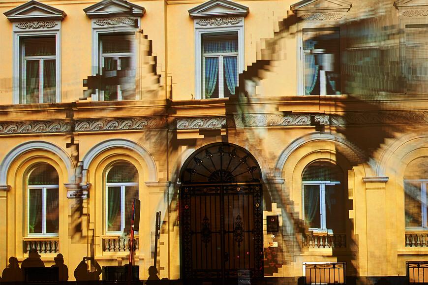 Consulaat Zuid-Korea (Bij Sint-Jacobs), Klaus Obermaier - Dancing House Танцующий дом