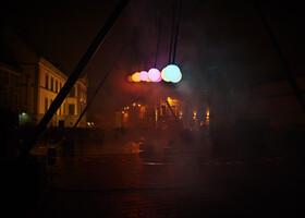 Гент. Фестиваль света.