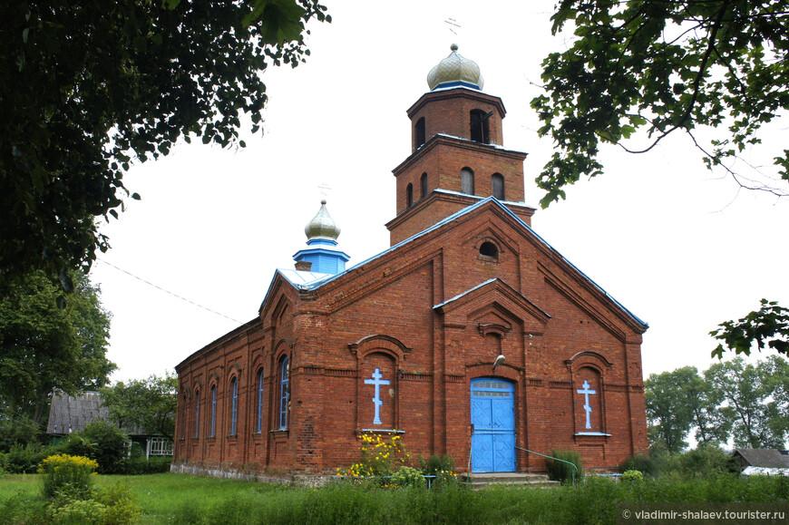 Видзы. Старообрядческая Успенская церковь (нач. XX века).