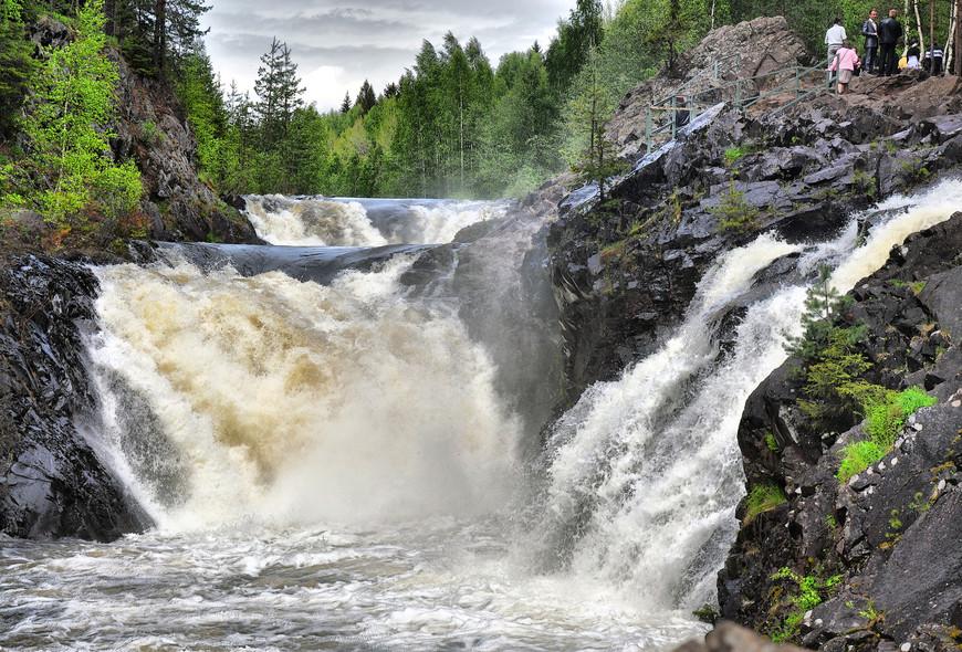 Водопад Кивач, Карелия
