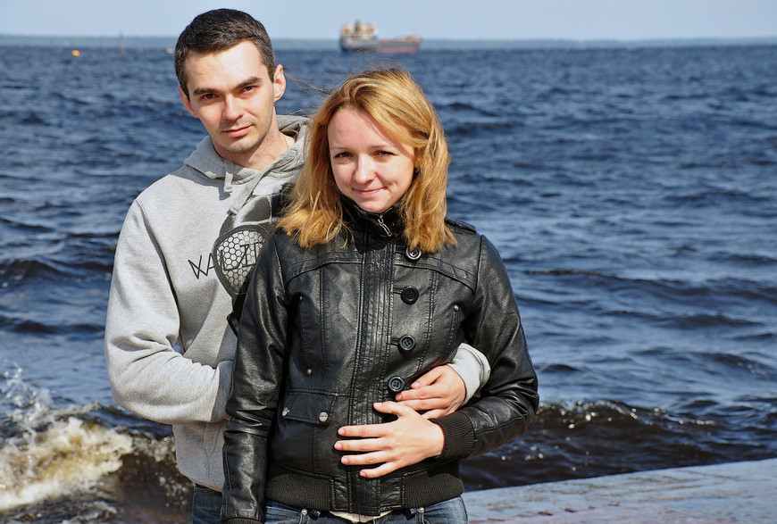 Набережная Петрозаводска. Онежское озеро