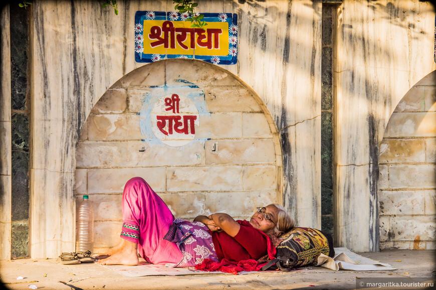 типичные картинки на индийских улицах