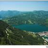 Озеро и ГЭС Перучац