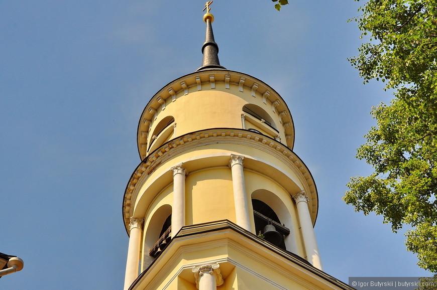 04. Колокольня Свято-Троицкого кафедрального собора.