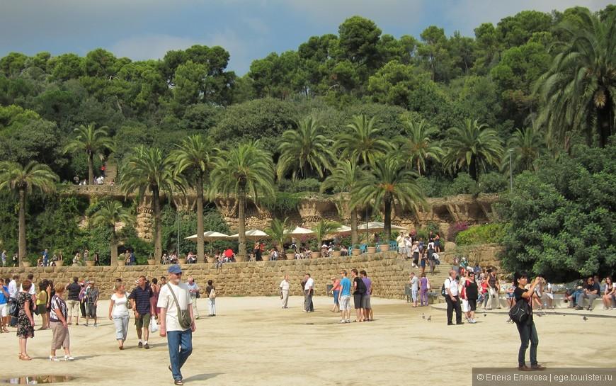 Парк Гуэль, архитектура и природа