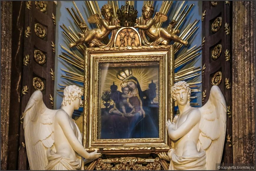 Удивительный образ Богородицы. Хорваты приходят сюда со всеми своими бедами и радостями...