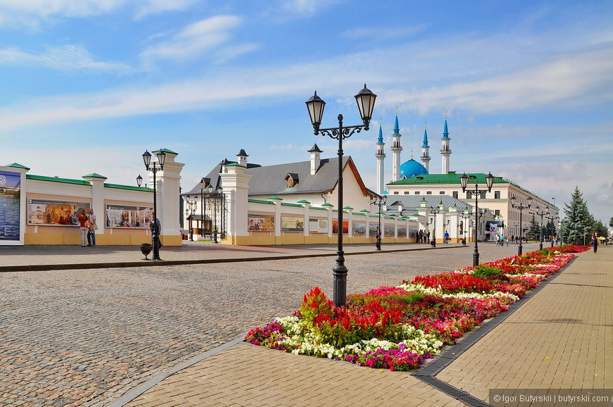12. Казанский кремль однозначно самый оборудованный и обустроенный в России, все на самом высоком уровне.