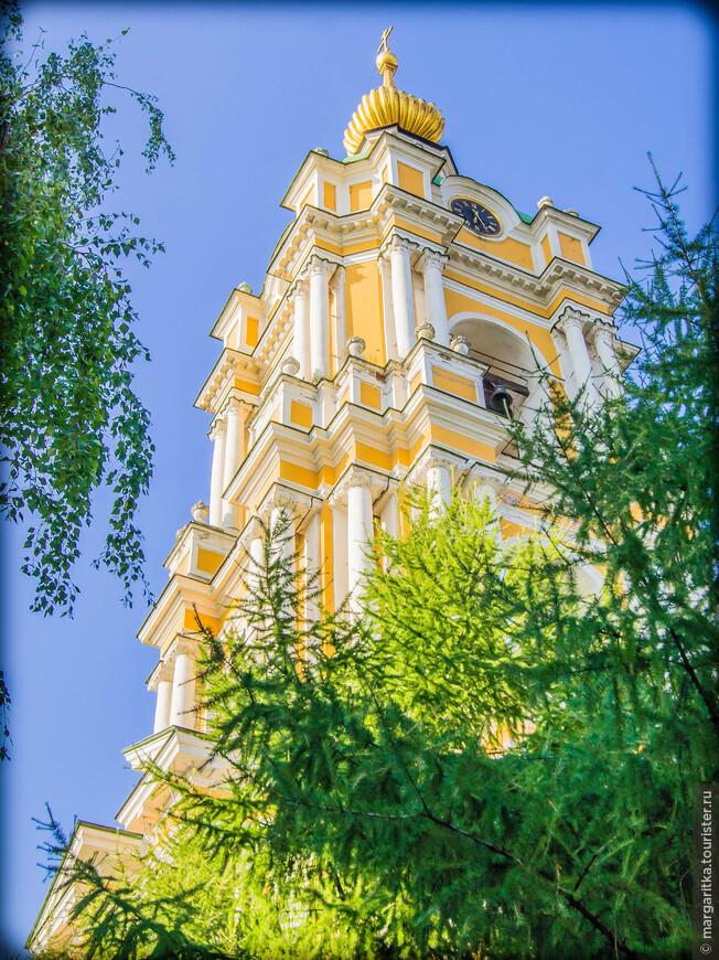колокольня с храмом преподобного Сергия Радонежского