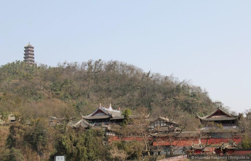 даосские храмы в горах