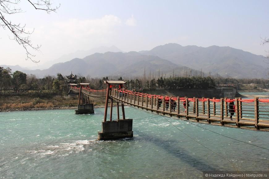 мост через реку Миньцзян