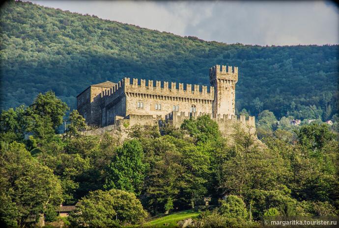 Замок Кастельгранде. Беллинцона. Швейцария