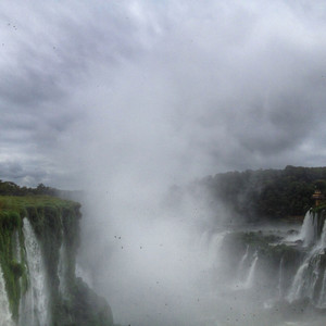 Водопады Игуасу — великие и могучие