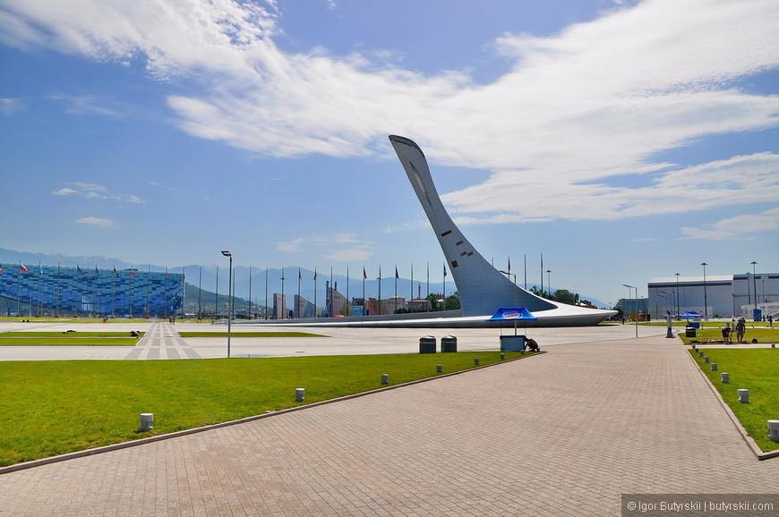 04. Парк поддерживают в том состоянии, в котором он был во время олимпиады.
