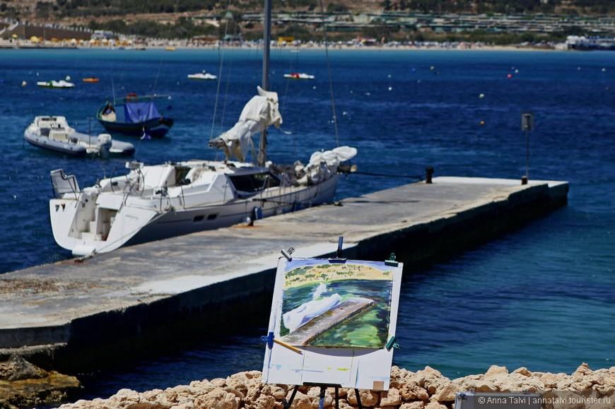 Здесь находится самый большой песчаный пляж Мальты — Меллиха Бэй