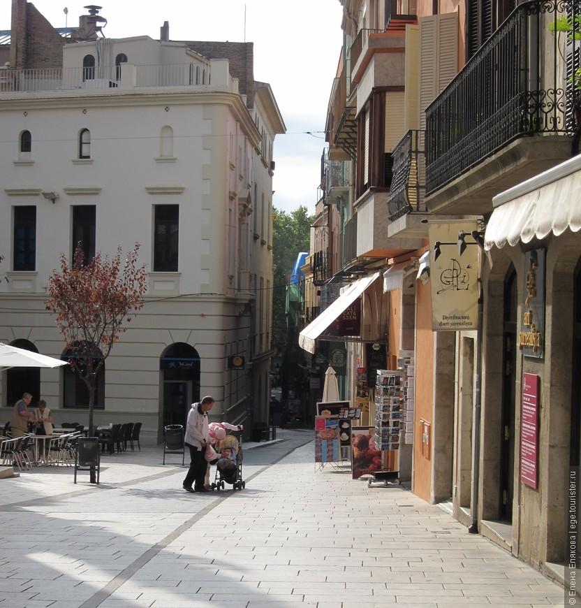Фигерас - улица