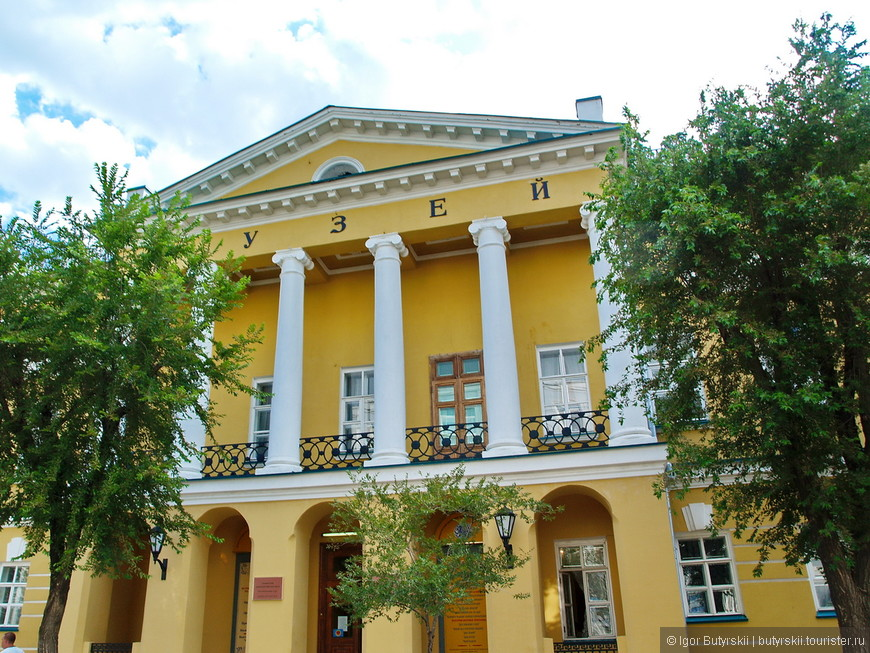09. Интересное здание музея.