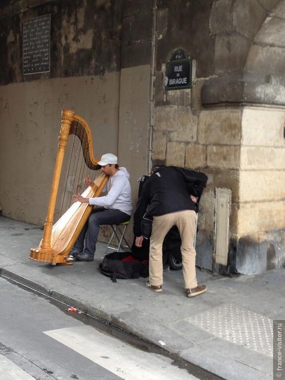 Талант, он и на улице - талант. Музыканты парижских улиц.