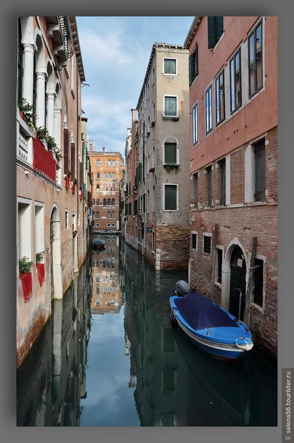 Водные артерии Венеции.