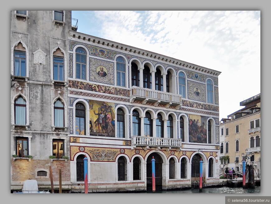 Дворец Барбериго. Построен в  XYI веке.