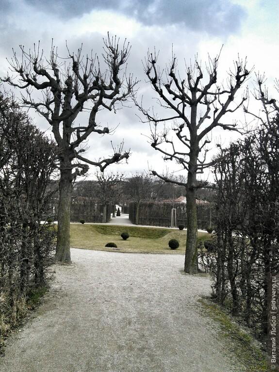 Сады и парки Вены.