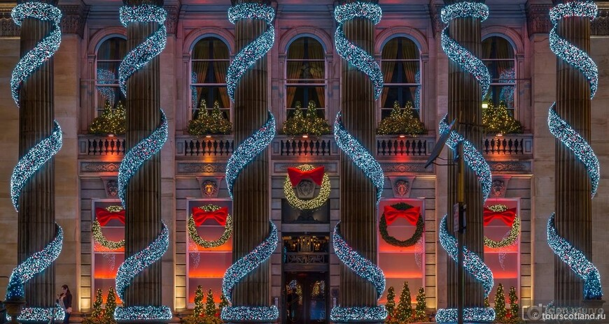 Рождественское убранство Нового Города