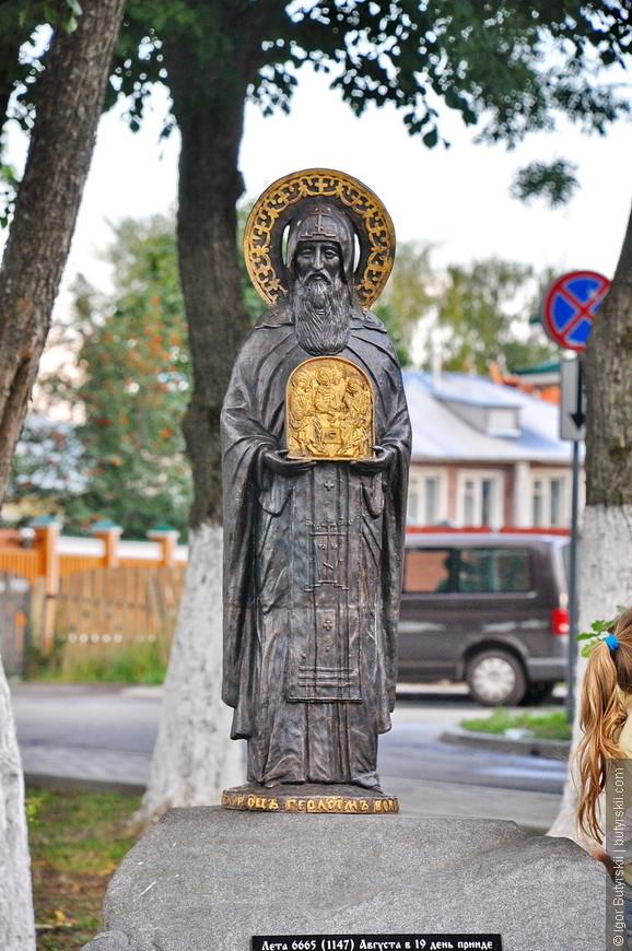 16. В городе много интересных элементов, зачастую религиозных.