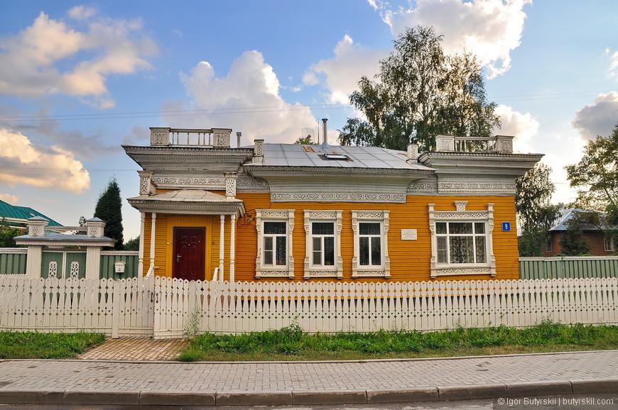 17. Какой прелестный домик и забор, чистая русская глубинка.