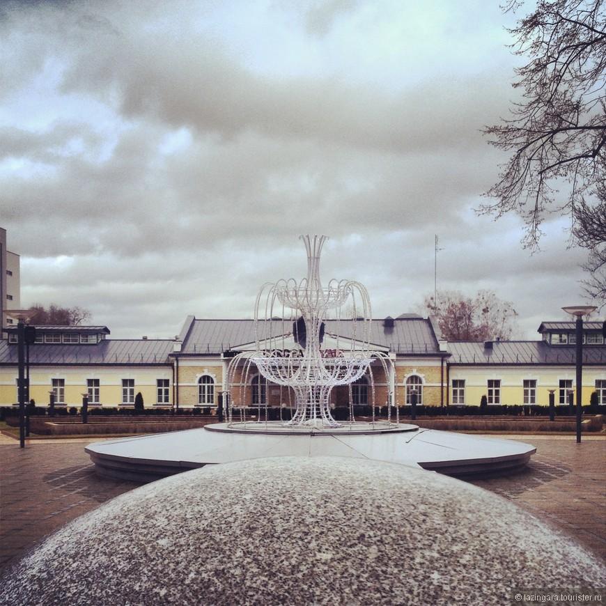 Вильнюсская аллея и фонтан