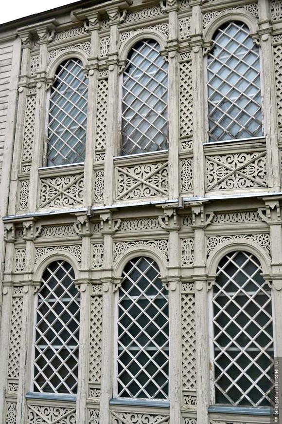 Восхитительные резные фасады домов в Друскининкае