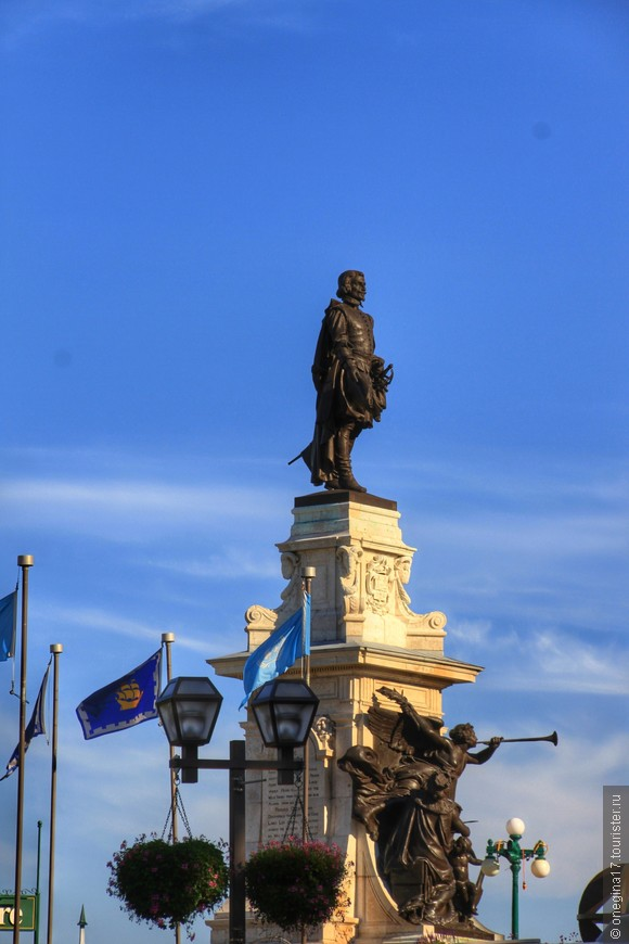Самюэль де Шамплен, основатель Квебека.