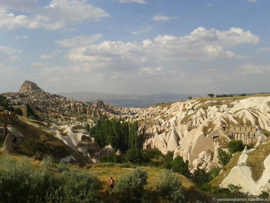 Панорама Голубиной долины.