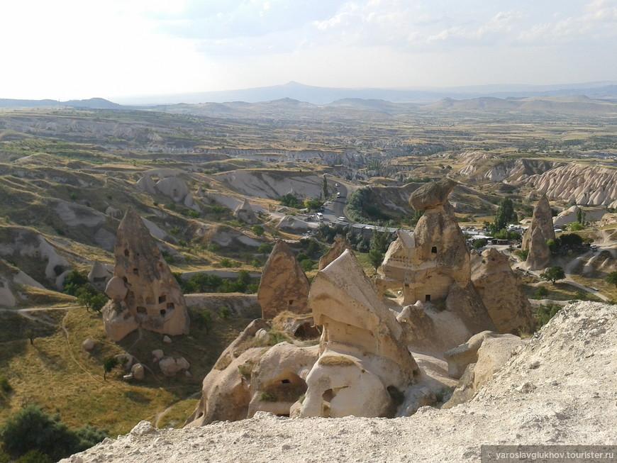 Скалы Каппадокии.