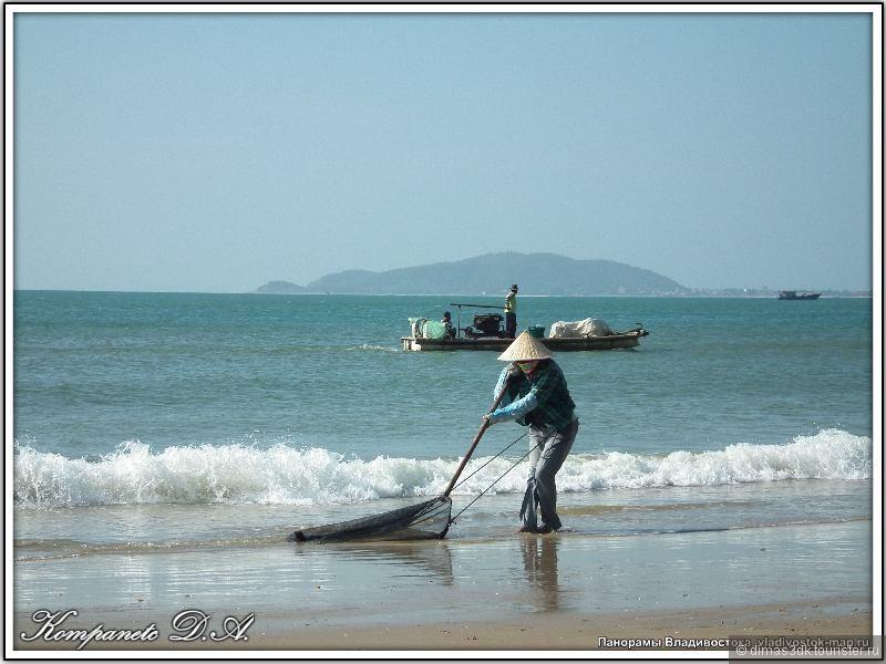 Так морские берега делаются чистыми, так - от рассвета до заката