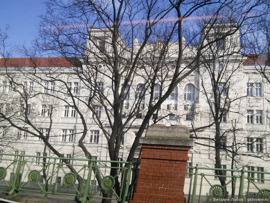 Жить в Вене: городская тюрьма. Как шутят местные жители - самый дешёвый отель в городе.