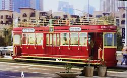 В Дубае появился туристический трамвай