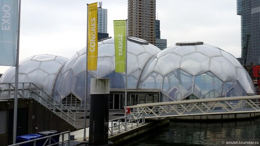 шары на воздушных подушках - это выставочный комплекс