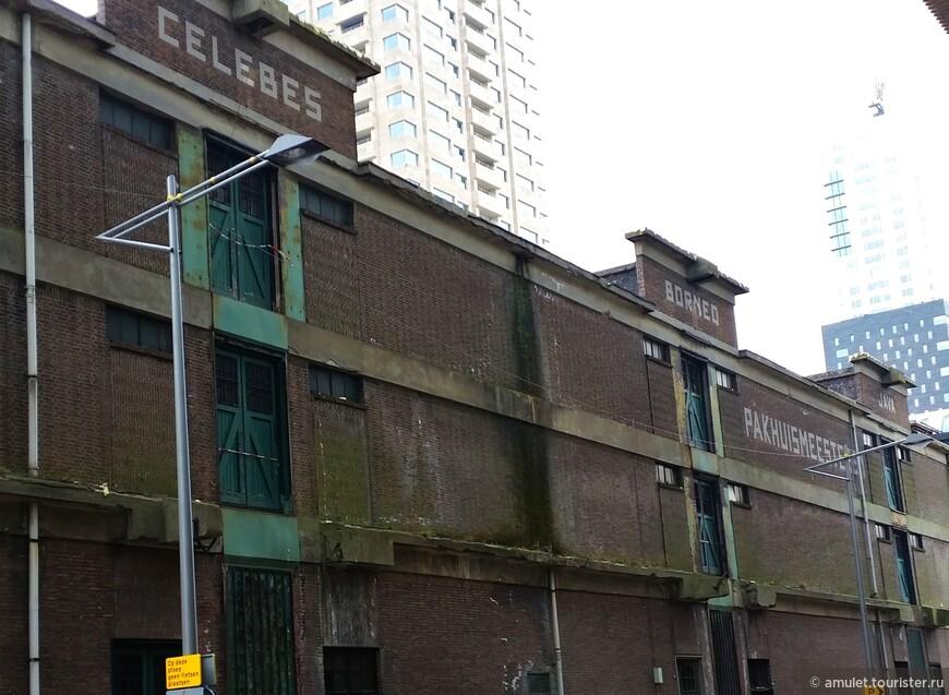 старые портовые складские помещения