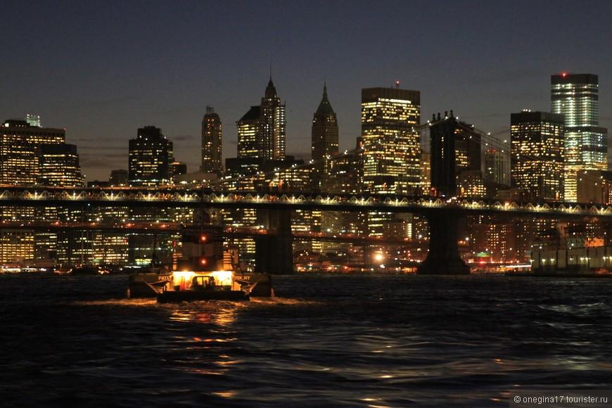 Манхэттен мне посчастливилось фотографировать и с воды, и с земли, и днем, и ночью.
