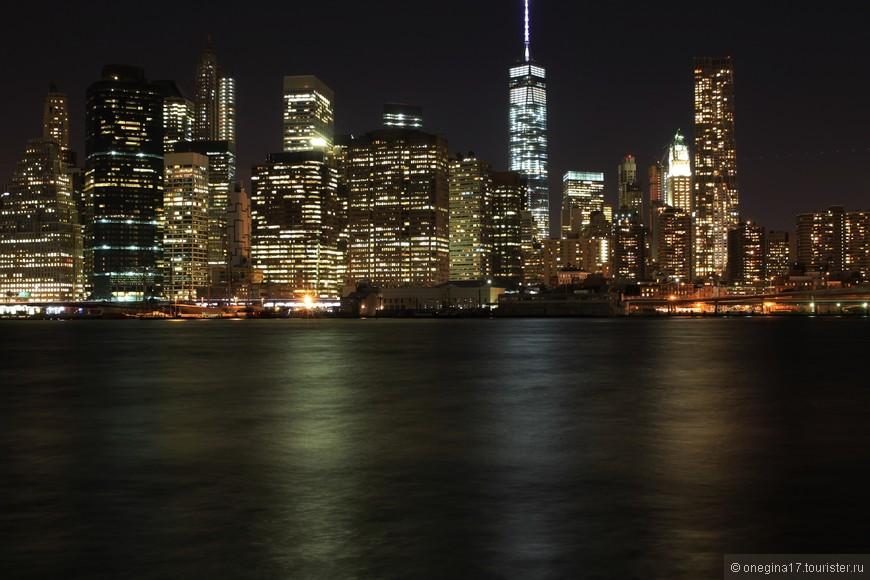 Скажу честно, я мечтала иметь свои собственные фотографии ночного Манхэттена, утопающего в огнях.