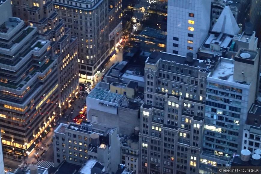 Манхэттен с Рокфеллер-центра.