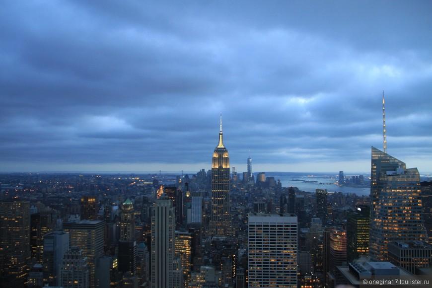 Нью-Йорк хорош с высоты. И не важно, днем или ночью вы заберетесь повыше...
