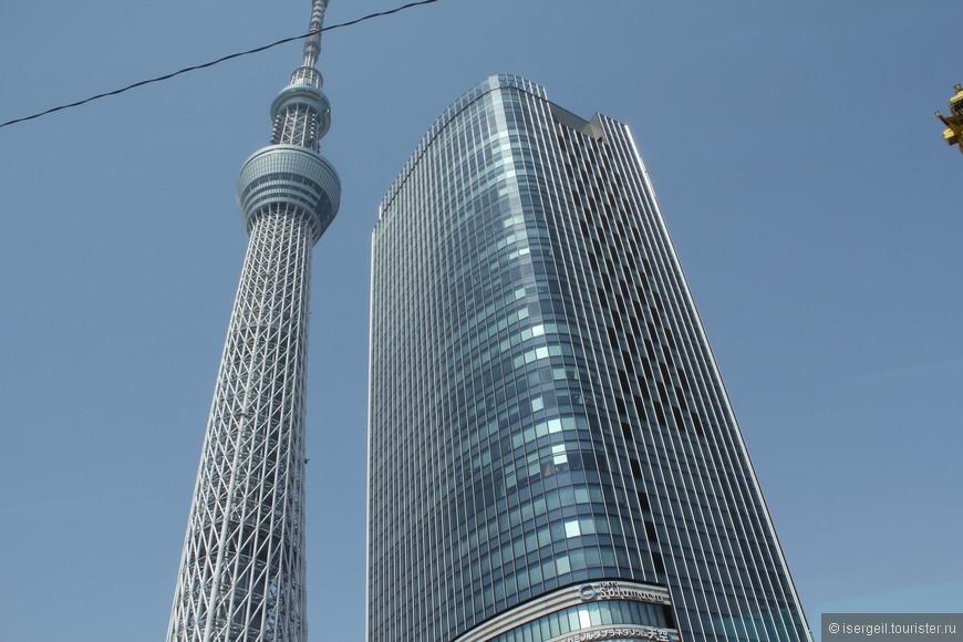 Токийское небесное дерево (Tokyo Skytree) — телевизионная башня.