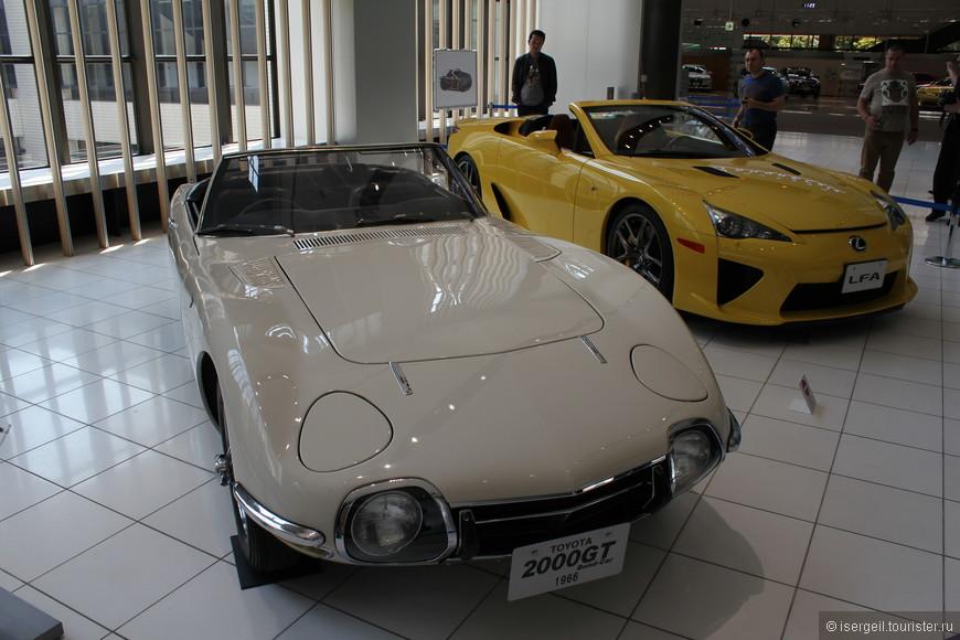 Автомобильный музей Тойоты в Нагое.