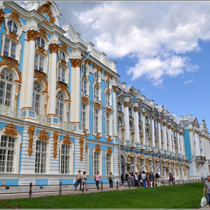 Пушкин_Екатерининский дворец и окрестности
